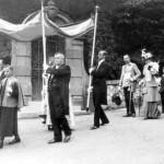 Slavnost Božího těla, FF, Arnošt, za dětmi nejv.hofmistr major Karel baron Rumerskirch