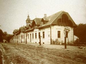 Stará_myslivna_Konopiště_1900